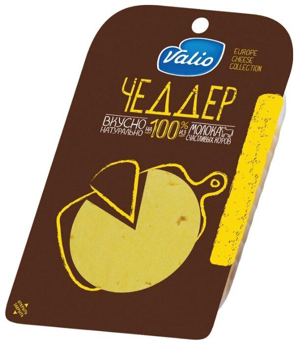 Сыр твердый Valio Чеддер 48% 140 г, 140 г.