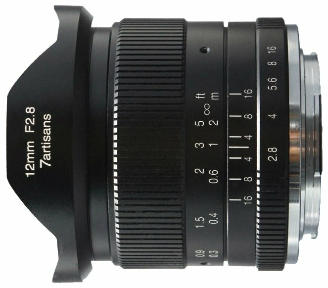 Объектив 7artisans 12mm f/2.8 Fujifilm X