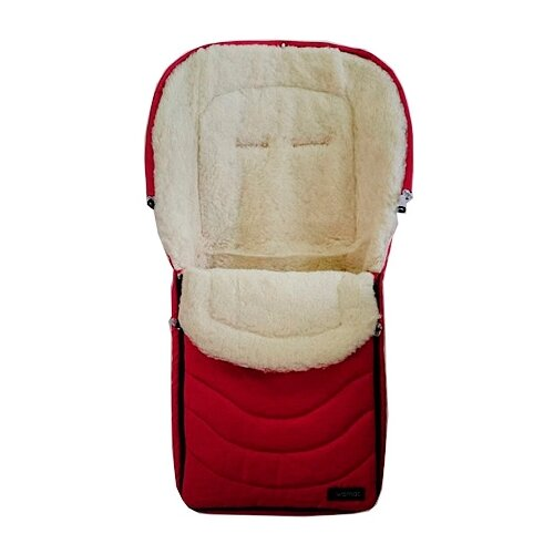 Купить Конверт-мешок Womar Black Frost в коляску 95 см 4/2 красный, Конверты и спальные мешки