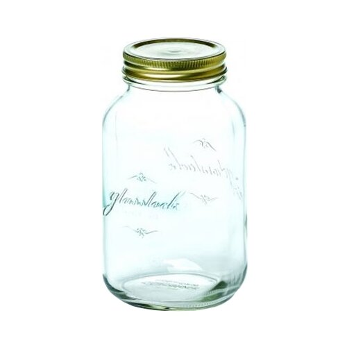 Фото - Glasslock Банка для хранения IP-626 500 мл прозрачный/бронза банка для хранения солений ягод варенья 4 л 16х13 5х29 см ip 636 glasslock