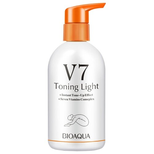Молочко для тела BioAqua увлажняющее V7 Toning Light, бутылка, 250 г dr jart v7 toning light cleanser