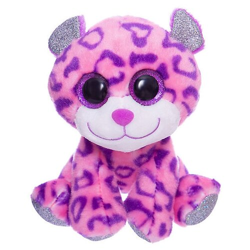 Купить Мягкая игрушка ABtoys Снежный барс 14 см, Мягкие игрушки