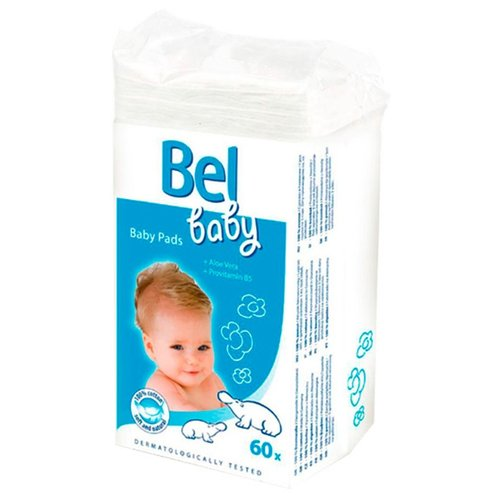 Ватные подушечки Hartmann Bel Baby, 60 шт.