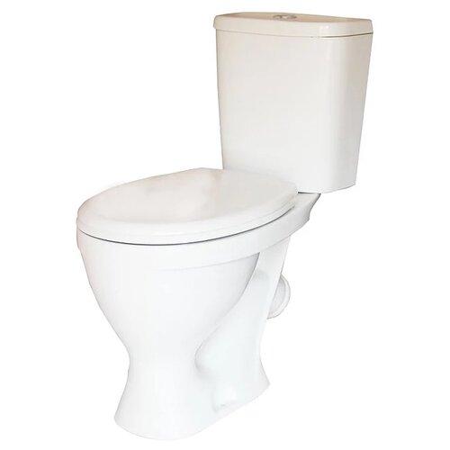 Унитаз с бачком напольный Sanita Формат комфорт с косым выпуском унитаз компакт напольный sanita виктория комфорт