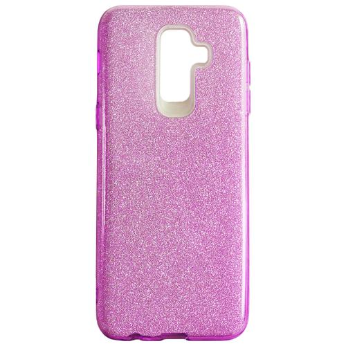 Купить Чехол Akami Shine для Samsung Galaxy J8 2018 розовый