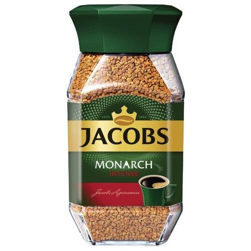 Кофе растворимый Jacobs Monarch Intense, стеклянная банка, 95 г