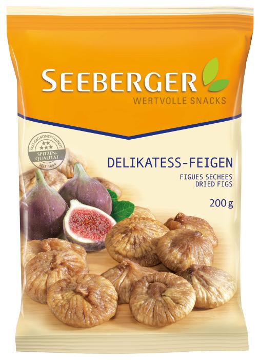 Инжир SEEBERGER деликатесный, 200 г, Германия, ш/к 35003, SE2350107