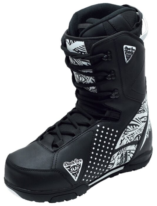 Ботинки для сноуборда Black Fire B&W