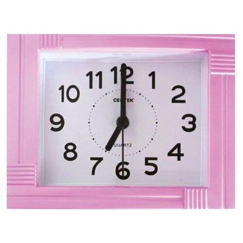 Часы настольные CENTEK СТ-7201 розовый часы centek centek ст 7104 flower