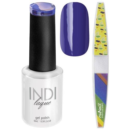 Набор для маникюра Runail пилка для ногтей и гель-лак INDI laque 3551Гель-лак<br>