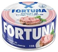 Паштет Fortuna из тунца, 110 г