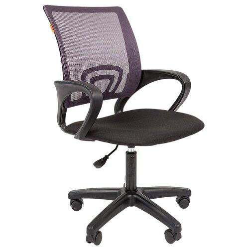 Компьютерное кресло Chairman 696 LT офисное, обивка: текстиль, цвет: серый