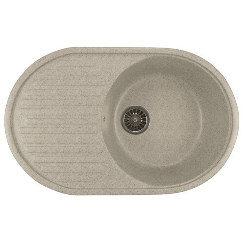 Фото - Врезная кухонная мойка 72 см Mixline ML-GM16 серая 310 врезная кухонная мойка 57 см mixline ml gm17 темно серая 309