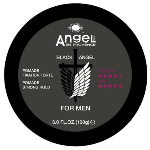 Angel Provence Помада Black Angel For Men, сильная фиксация, 100 г