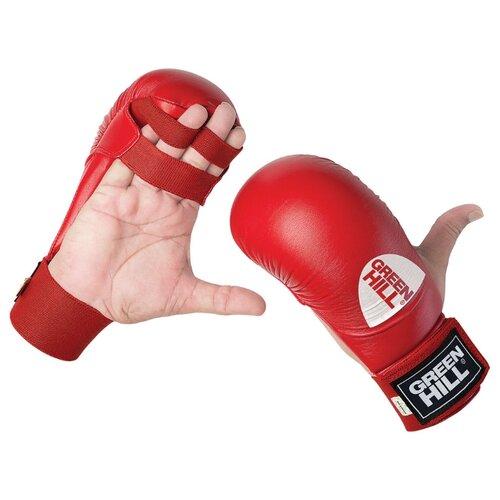 Тренировочные перчатки Green hill Cobra KMC-6083 для карате красный XL