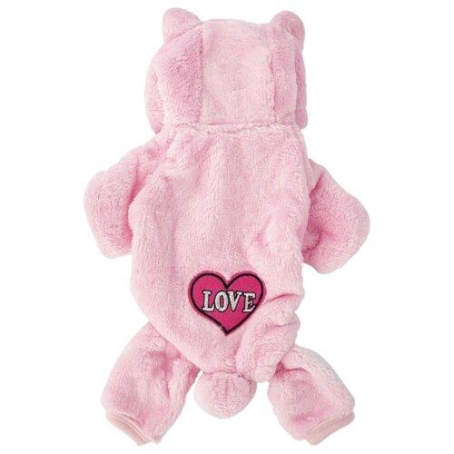 Комбинезон для собак Удачная покупка P0008-11 S розовый