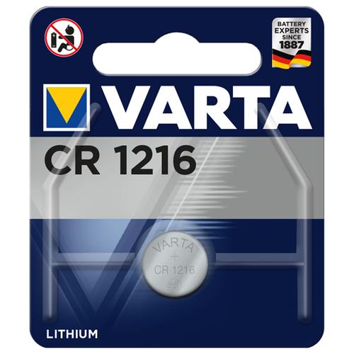 Фото - Батарейка VARTA CR1216 1 шт блистер батарейка camelion cr1216 5 шт блистер