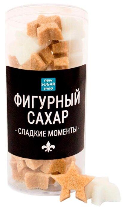 New SUGAR shop фигурный Сладкие моменты Звёздочки сахарные тростниковые и белые