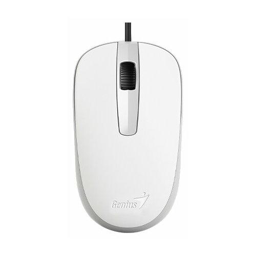 Фото - Мышь Genius DX-120 Elegant White USB мышь genius dx 120 calm black usb