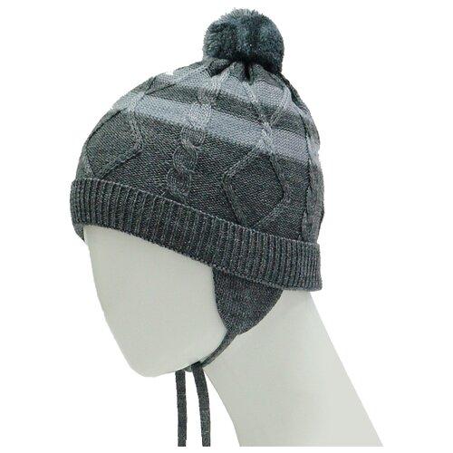 Шапка Zattani размер 50, темно-серыйГоловные уборы<br>