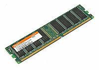 Оперативная память 1 ГБ 1 шт. Hynix DDR 400 DIMM 1Gb