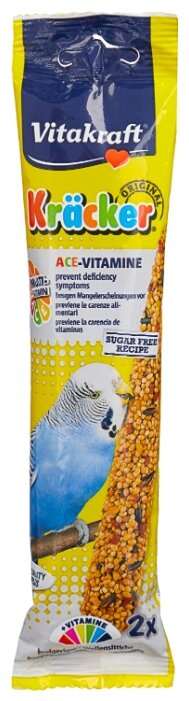 Лакомство для птиц Vitakraft Крекеры мультивитамин (21194)