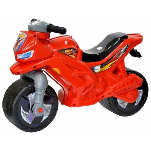 Каталка-толокар Orion Toys Мотоцикл 2-х колесный (501) красный каталка толокар orion toys мотоцикл 2 х колесный 501 зеленый