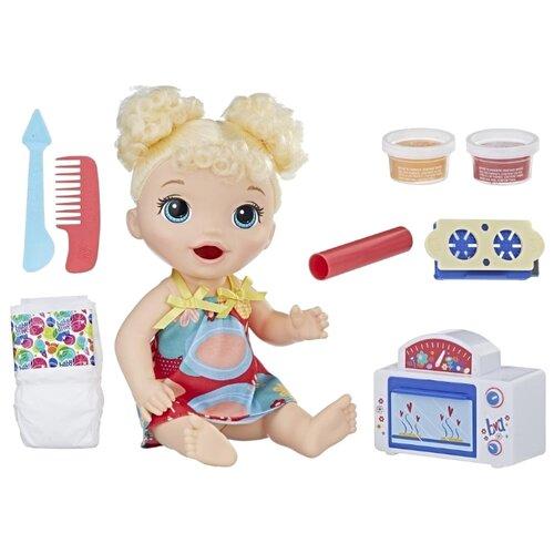 Купить Интерактивная кукла Hasbro Baby Alive Малышка и еда, E1947, Куклы и пупсы