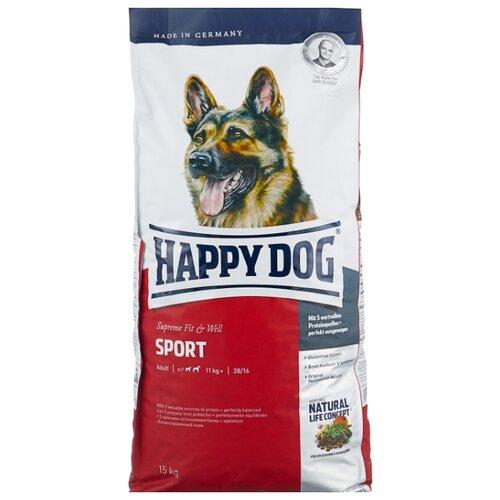 Сухой корм для собак Happy Dog Supreme Fit & Well для активных животных 15 кг happy well