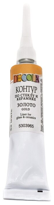 Контур Decola по стеклу и керамике на водной основе 18 мл