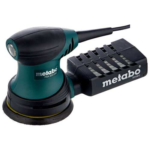Эксцентриковая шлифмашина Metabo FSX 200 Intec шлифмашина эксцентриковая metabo sxe 3125 600443500