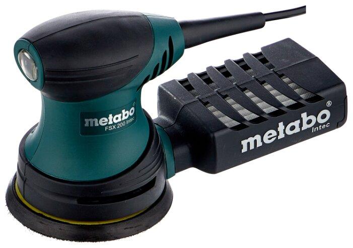 Эксцентриковая шлифмашина Metabo FSX 200 Intec — стоит ли покупать? Выбрать на Яндекс.Маркете
