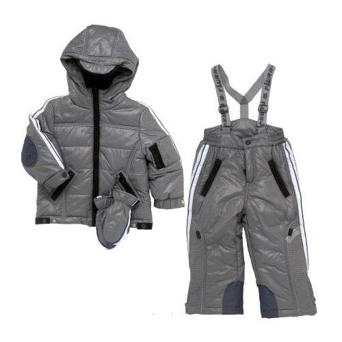 Комплект с брюками Chicco размер 80, серый кеды chicco размер 23 серый