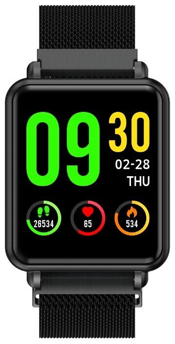 Купить Смарт-часы Colmi LAND1 стальной ремешок по низкой цене с доставкой из Яндекс.Маркета (бывший Беру)