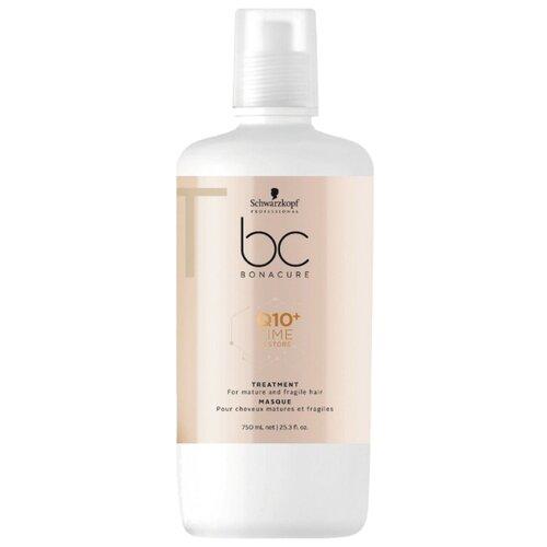 Фото - BC Bonacure Q10+ Time Restore Маска для волос смягчающая, 750 мл bc bonacure keratin smooth perfect маска для гладкости волос 750 мл