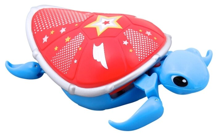 Фигурка Moose Черепашка синяя с красным панцирем 28253