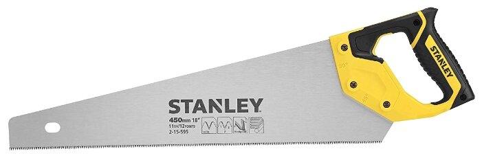 Купить Ножовка по дереву STANLEY JETCUT 2-15-595 450 мм по низкой цене с доставкой из Яндекс.Маркета (бывший Беру)
