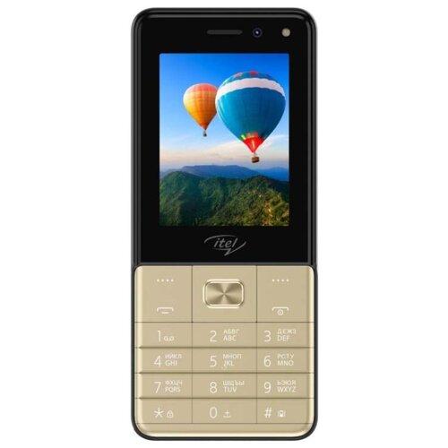 Телефон Itel it5250 шампань телефон