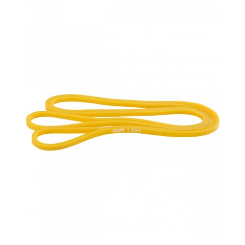 Эспандер лента Starfit ES-801 (1-10кг) 208 х 0.64 см желтый эспандер star fit многофункциональный es 602 6 х 9 х 1400 желтый