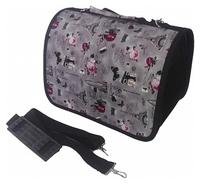 Переноска-сумка для кошек и рептилий LOORI Z1355 40х25х27 см