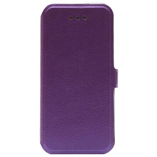 Чехол Gosso UltraSlim Book для Apple iPhone 5/5S/SE фиолетовыйЧехлы<br>