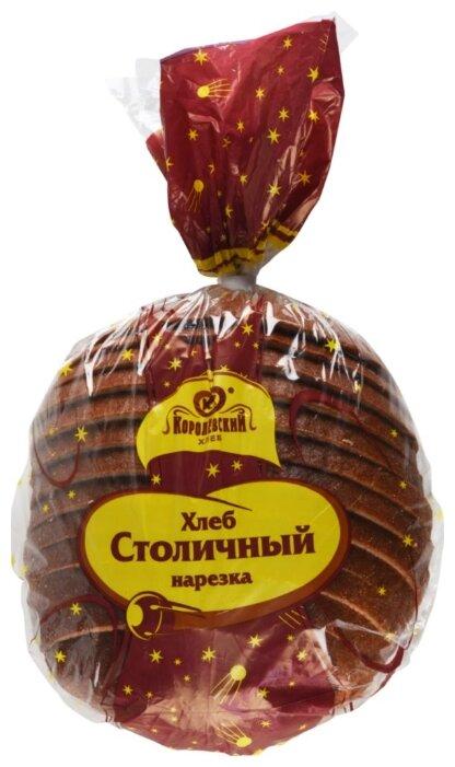 Хлеб Столичный Королёвский хлеб, нарезка, 600 г