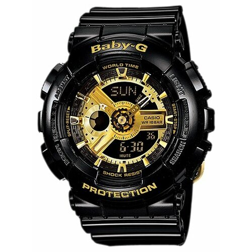 Фото - Наручные часы CASIO BA-110-1A женские часы casio ba 111 1a