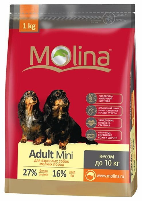 Корм для собак Molina Adult Mini
