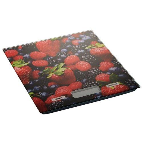 Кухонные весы DELTA КСЕ-27 черный/красный весы кухонные atlanta красный с чашей