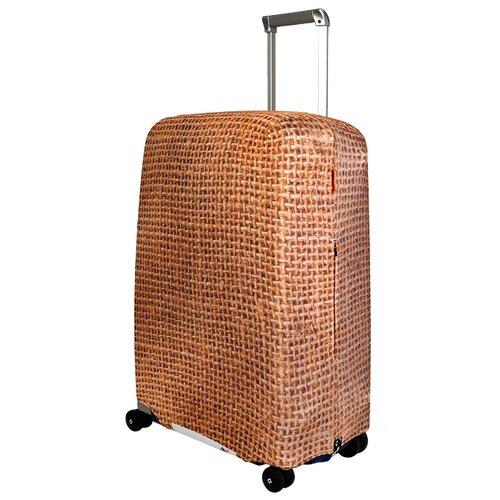 Чехол для чемодана ROUTEMARK Какой-то мешок на чемоданеSP180 M/L, желтый