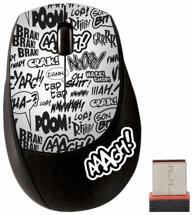Мышь Cirkuit Planet CKP-MW1125 Black-White USB