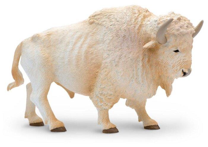 Фигурка Safari Ltd Американский белый бизон 180929