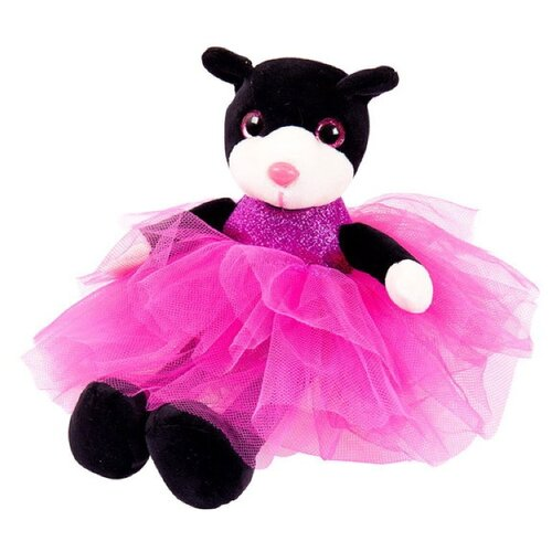 Купить Мягкая игрушка ABtoys Кошка в платье 20 см, Мягкие игрушки