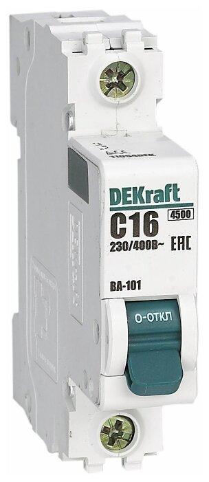 Автоматический выключатель Schneider Electric ВА-101 1P (B) 4,5kA